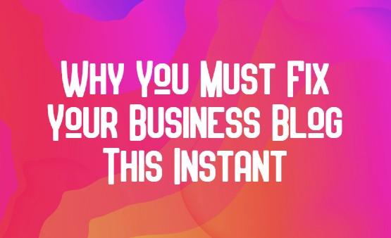content tips business website